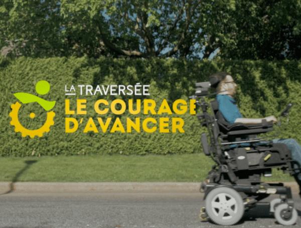 La traversée le courage d'avancer par Julien Racicot